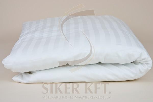 7a49664302 Szállodai szatén paplanhuzat (2 cm-es csíkokkal) | Textilwebáruház