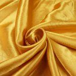 szatén selyem - arany