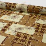 Mintás vászon 8351-brown